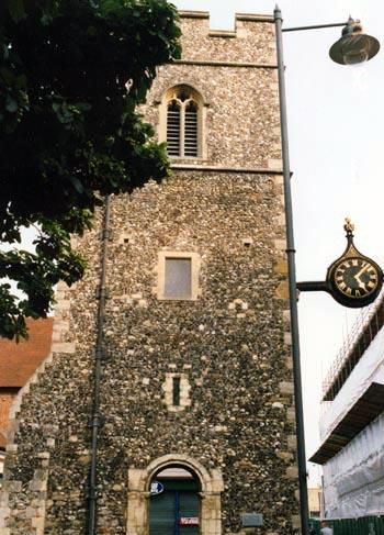 St. George's Church Tower, Canterbury, 2002.